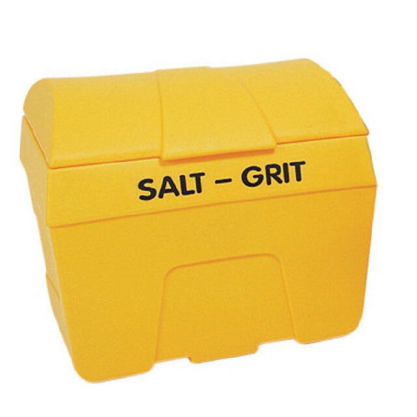 Yellow Winter Salt/Grit Bin No Hopper 400 Litre 317066