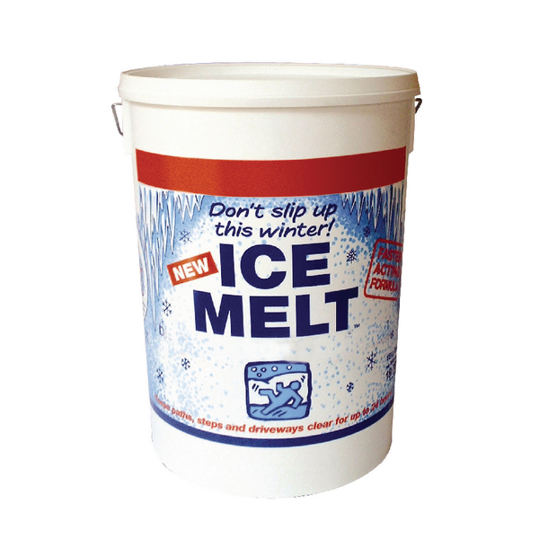 White Magic Ice Melt 18.75kg Dispenser Tub 320407