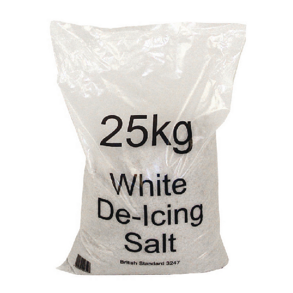 Winter De-Icing Salt Bag 25kg High Purity 374674