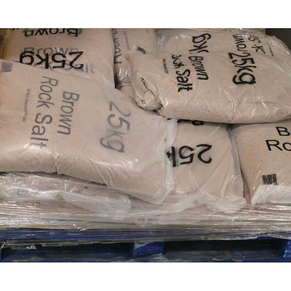 Winter Dry Brown Rock Salt 25kg (10 Pack) 383579
