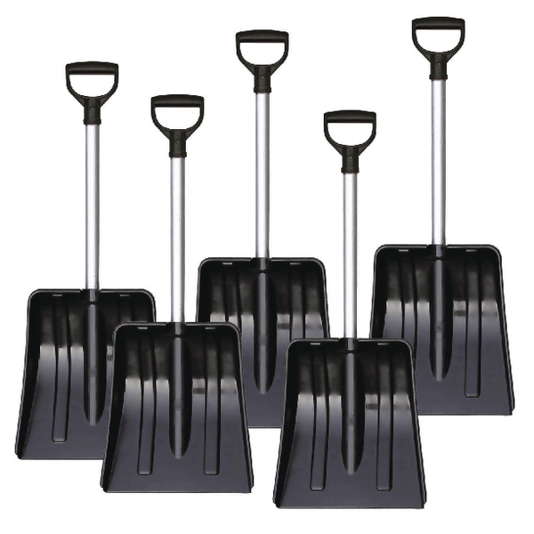 Yeti Car Shovel Aluminium Black 383696