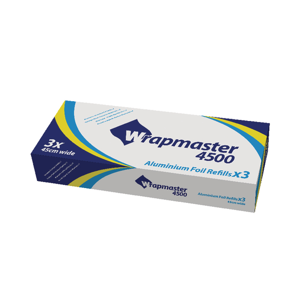 Wrapmaster 4500 Foil Refill 450mmx90m (Pack of 3) 24C55
