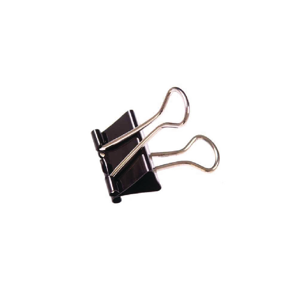 Black 41mm Foldback Clip (Pack of 10) 23371