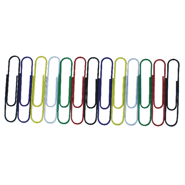 Assorted Giant Wavy 3 Inch Paperclips (Pack of 100) 32801