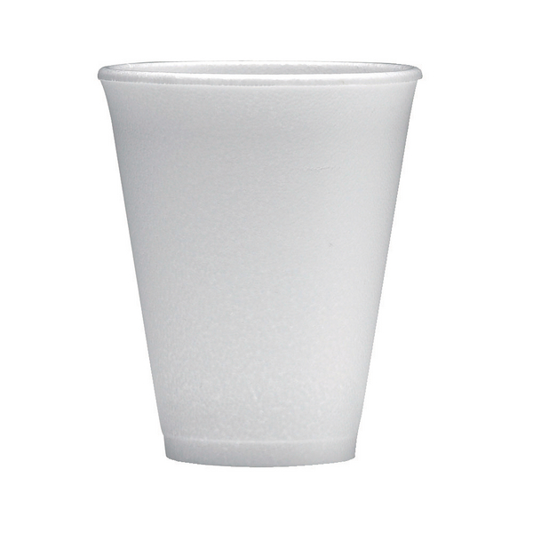 Polystyrene Cup 7oz White (1000 Pack) 0506048