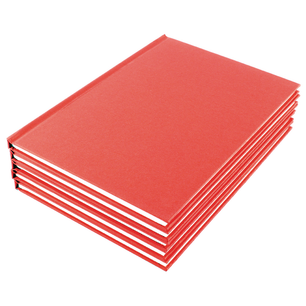 Image for Manuscript A5 Book Ruled Feint (Pack of 10)