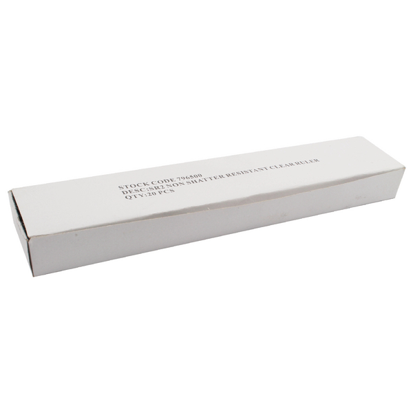 Whitebox Clear Ruler 30 cm (Pack of 20) 801697