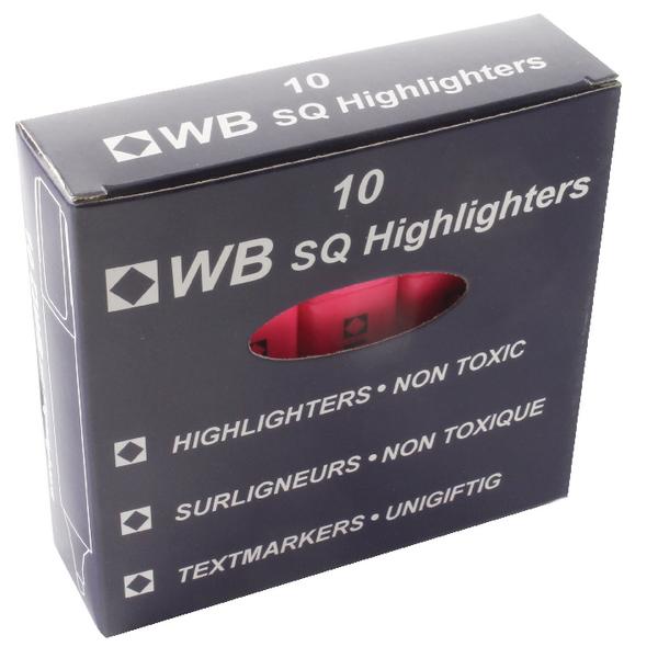 Pink Hi-Glo Highlighter (10 Pack) HI2717 819128