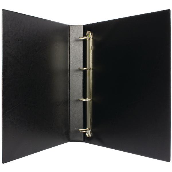 Image for Black 25mm 4D Presentation Binder (Pack of 10)