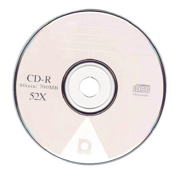 Image for CD-R Plastic Tub 80mins Pk25
