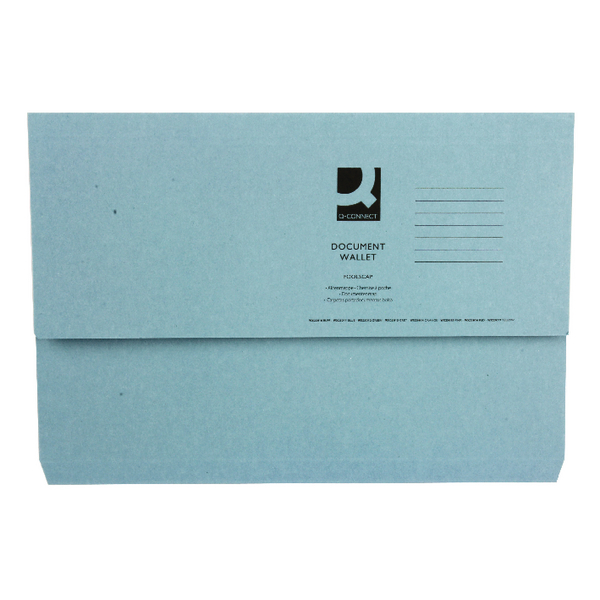 White Box Blue Document Wallet (Pack of 50) 45913EAST