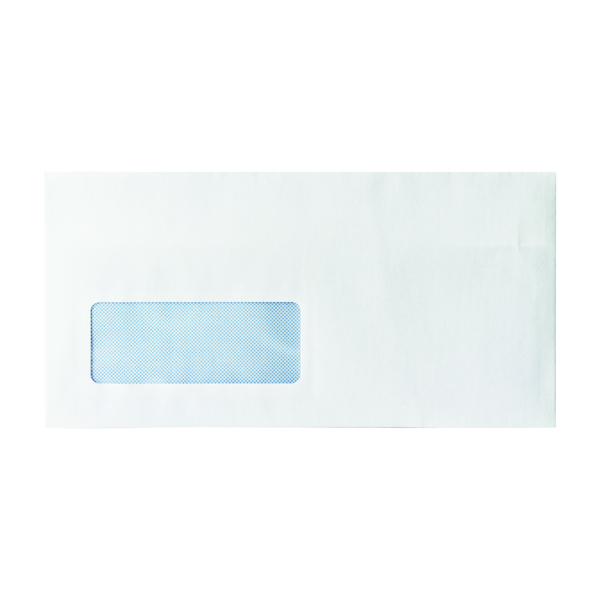 Image for Envelope DL Window 80gsm Self Seal White (Pack of 1000)