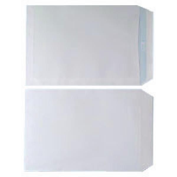 Plain White C4 Envelope Self Seal 90gsm White (250 Pack) WX3499