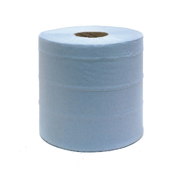 Blue Centrefeed Roll 2 Ply 150m (6 Pack) KMAT6238