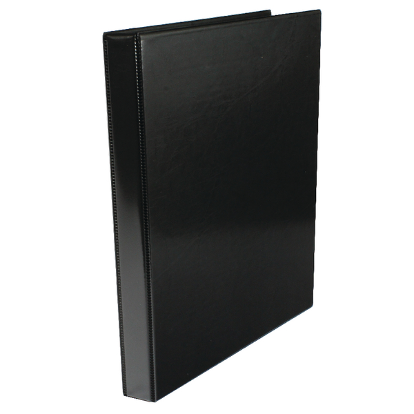 Image for Black 16mm 4-O Presentation Ring Binder (Pack of 10)