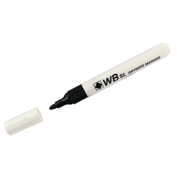 Assorted Whiteboard Marker Pens Bullet Tip (Pack of 4) 806005