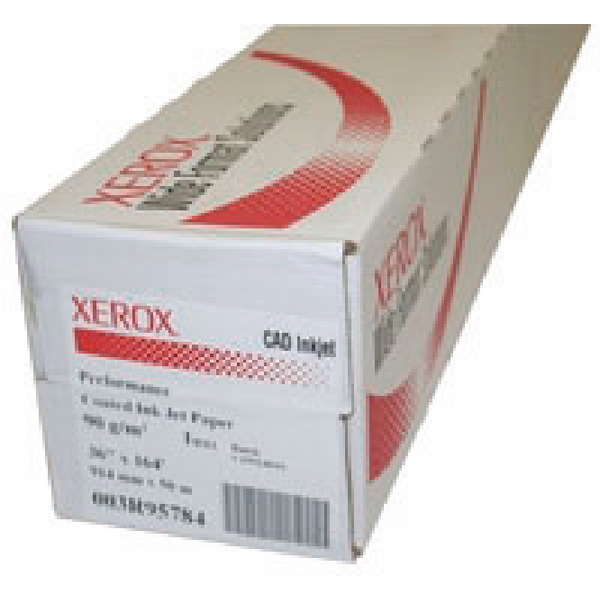 Xerox Performance Coated Inkjet Paper 914mm x50 Metres 003R95784