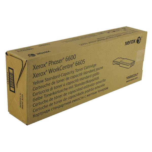 Xerox Yellow Toner Cartridge 106R02247