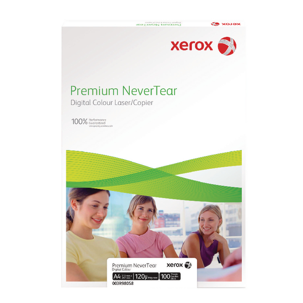 Xerox Premium Never Tear A4 210X297mm Pack 100 003R98056