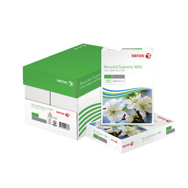 Xerox Supreme White A4 80gsm Recycled Paper (Pack of 2500) 003R95860