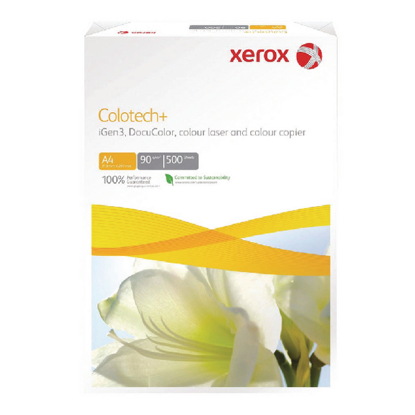 Xerox Colotech+ A4 White 140gsm Gloss-Coated Paper