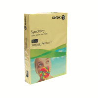 Xerox Symphony Pastel Yellow A4 210X297mm 160Gm2 FSC4 Pack 250 003R93231