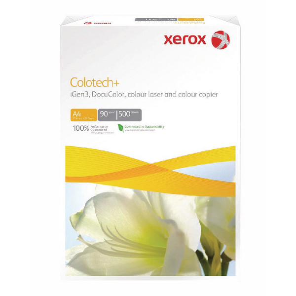 Xerox Colotech+ White A4 160gsm Paper (250 Pack) 003R98852