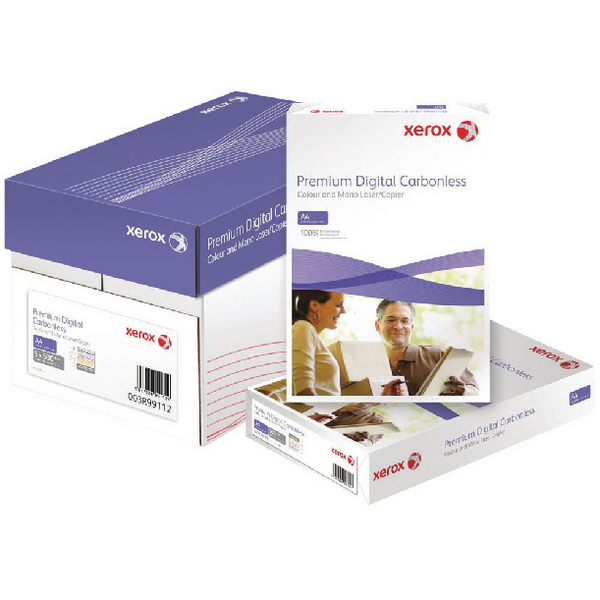 Xerox Premium Digital Carbonless A4 Paper 2-Ply Ream White/Pink 003R99107 (Pack of 500)