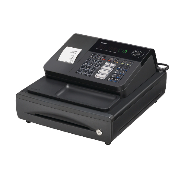 Casio Black Cash Register (Pack of 1) 140CR CASIO SE-G1